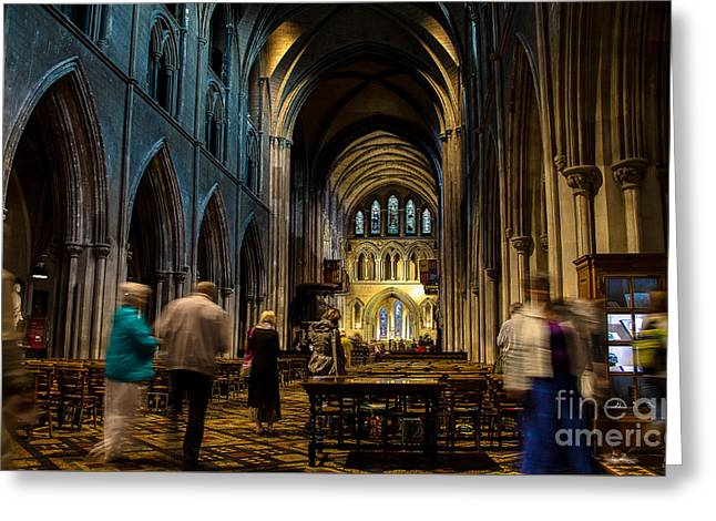 St Patrick's Cathedral Dublin Greeting Card by RicardMN Photography