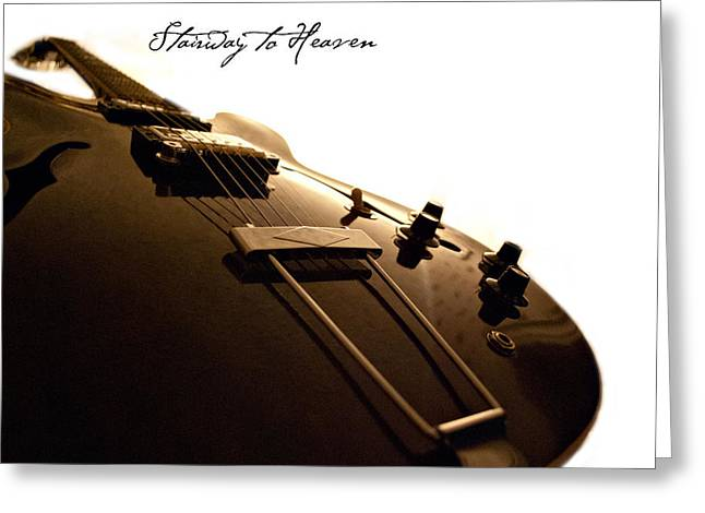 Gibson Greeting Cards - Stairway to Heaven Greeting Card by Christopher Gaston