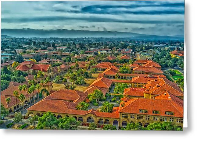 Stanford University Greeting Card