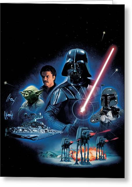 Star Wars Episode V - The Empire Strikes Back 1980 Greeting Card