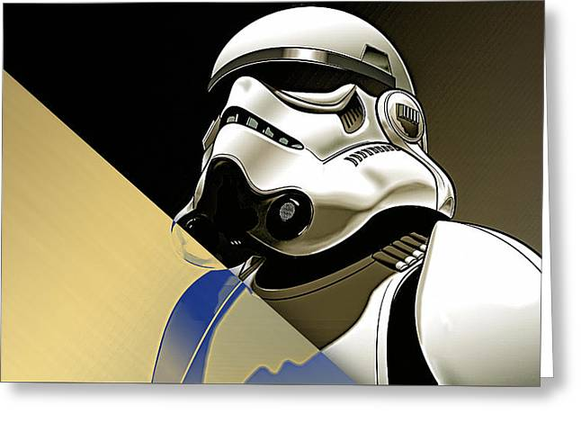 Star Wars Stormtrooper Collection Greeting Card by Marvin Blaine