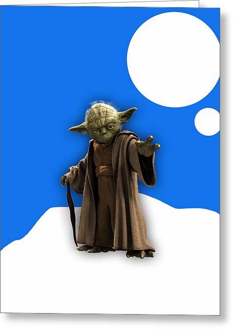 Star Wars Yoda Collection Greeting Card