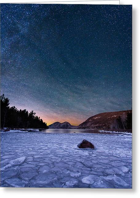 Stars On Ice Greeting Card