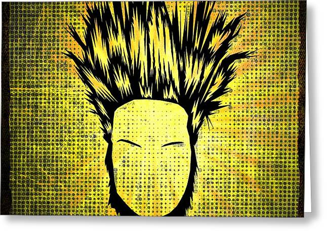 Static-x Greeting Card by Kyle West