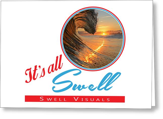 Stay Swell Design  Greeting Card