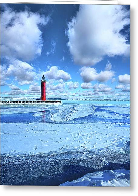 Greeting Card featuring the photograph Steadfast by Phil Koch