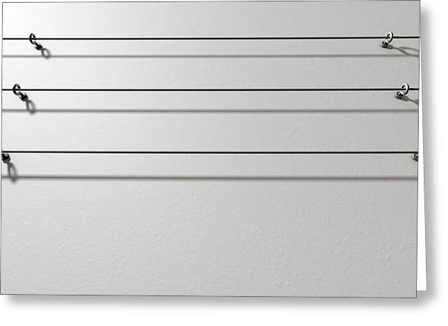 Steel Cable Display Wall Greeting Card