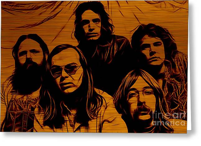 Steely Dan Collection Greeting Card by Marvin Blaine
