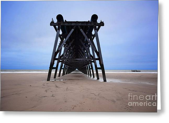 Steetley Pier Greeting Card