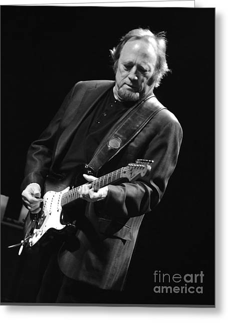 Stephen Stills Greeting Card by Jesse Ciazza