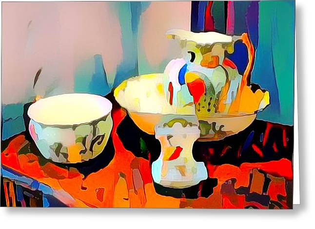 Still Life Greeting Card by Roger Smith
