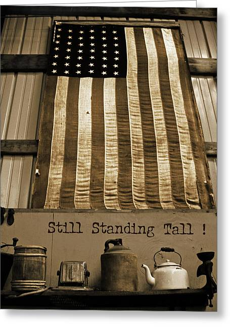 Still Standing Tall Greeting Card