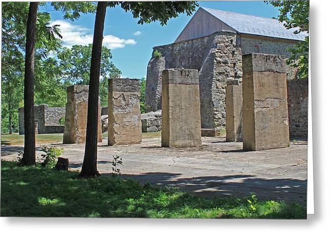 Stonehenge At Lockridge Greeting Card by Robert Sander