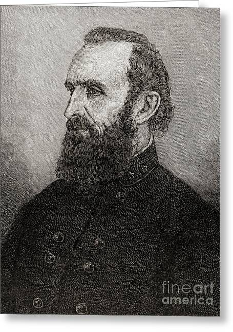 Stonewall Jackson Greeting Card by American School