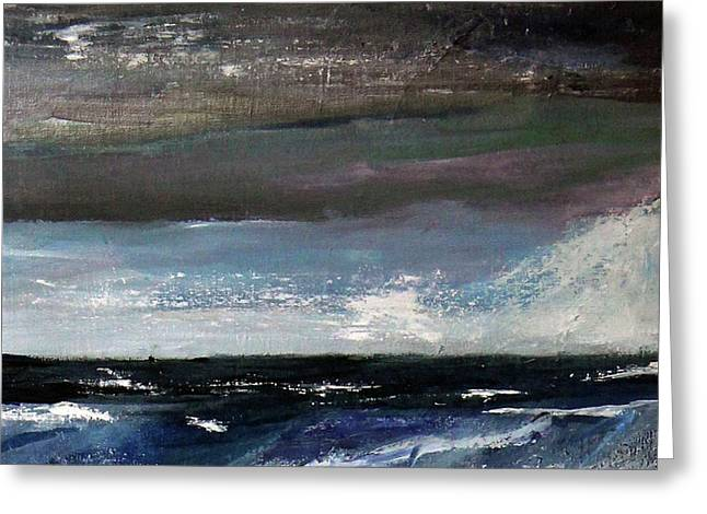 Stormy Weather Greeting Card by Michael Helfen