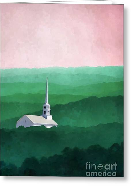 Stowe Vermont Greeting Card