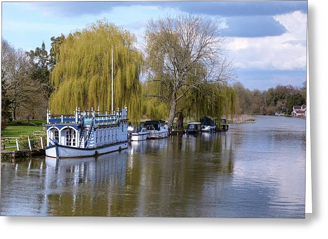Strateley - England Greeting Card by Joana Kruse