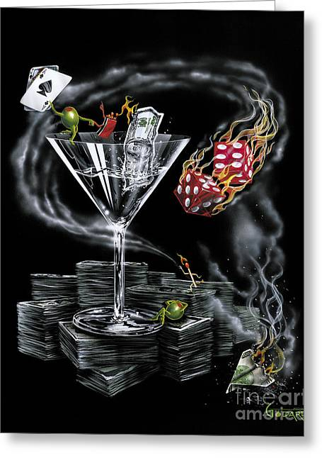 Strike It Rich Greeting Card