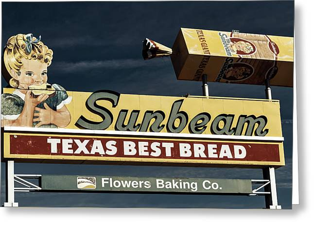Sunbeam - Texas Best Bread Greeting Card by L O C