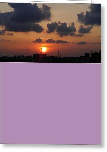 Sundown Greeting Card