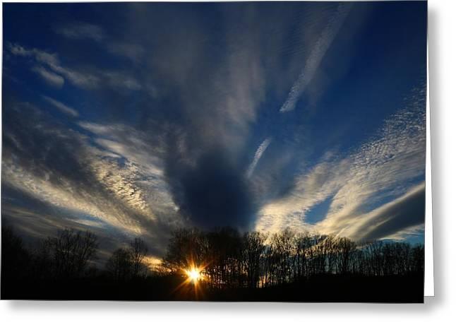 Sundown Skies Greeting Card