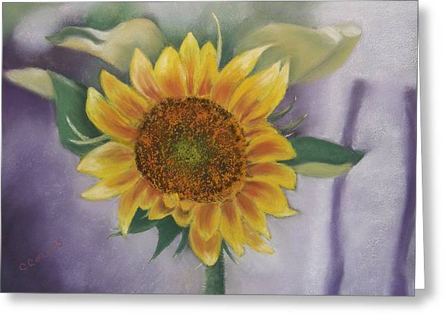 Sunflowers For Nancy Greeting Card