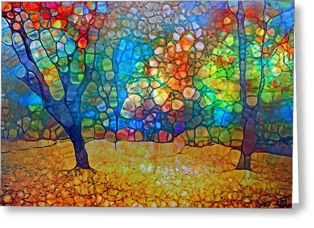 Sunoka Autumn Greeting Card by Tara Turner