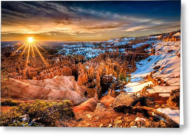 Sunrise At Bryce Greeting Card