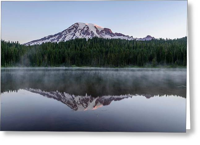 The Reflection Lake Greeting Card