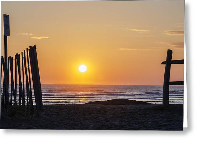 Sunrise In New Jersey Greeting Card