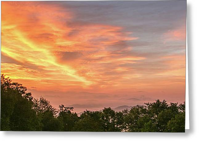 Sunrise July 22 2015 Greeting Card