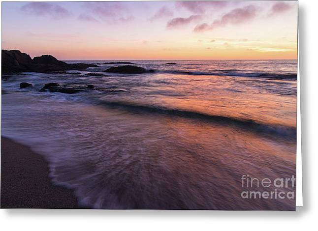 Sunset Over Laguna Beach   Greeting Card