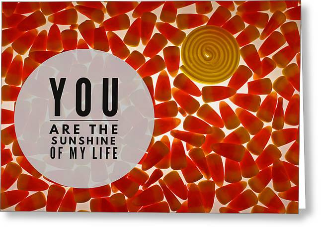 Greeting Card featuring the photograph Sunshine by Bobby Villapando