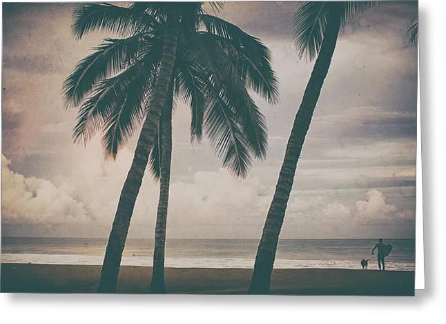 Surf Mates 2 Greeting Card