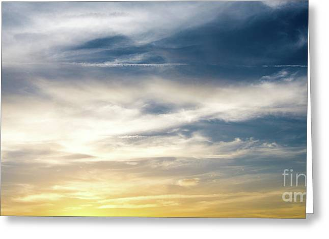 Surreal Storm Clouds Panorama Greeting Card by ELITE IMAGE photography By Chad McDermott