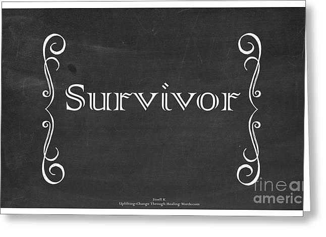Survivor Greeting Card