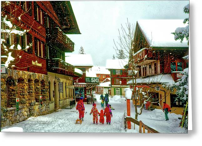 Switzerland Alps Greeting Card