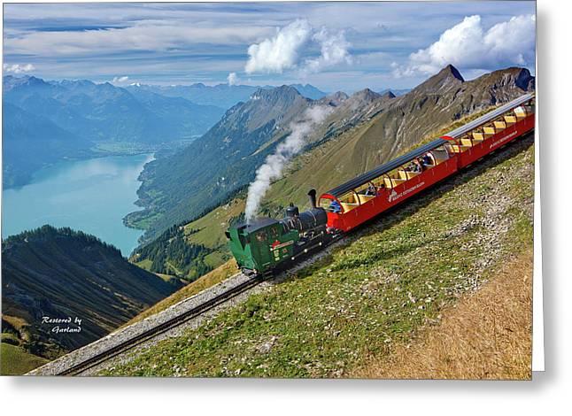 Switzerland - Summer Greeting Card
