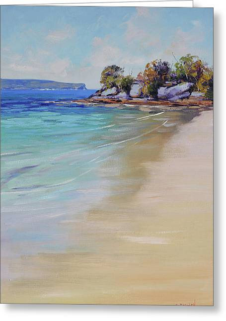Sydney Harbour Beach Greeting Card