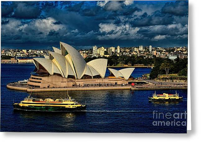 Sydney Opera House Australia Greeting Card