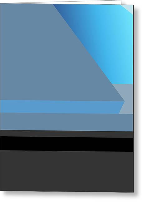 Symphony In Blue - Movement 1 - 2 Greeting Card
