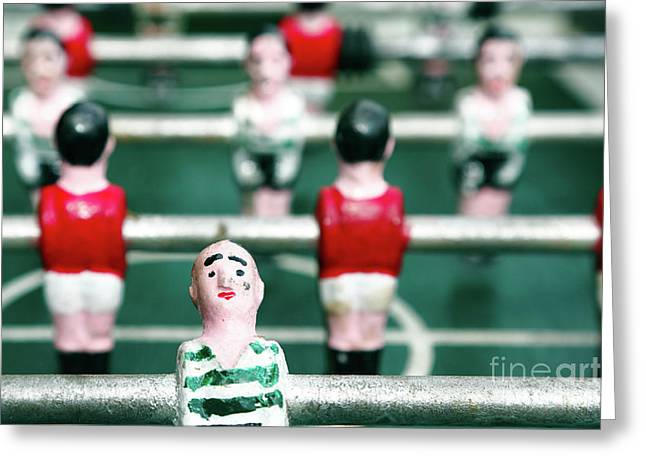 Table Soccer Greeting Card