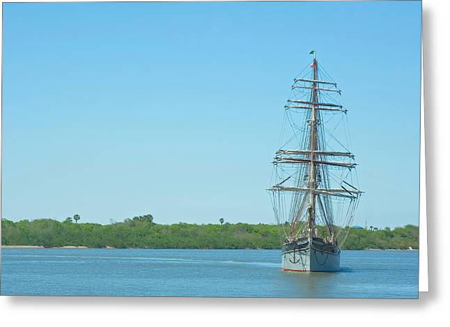 Tall Ship Elissa Greeting Card