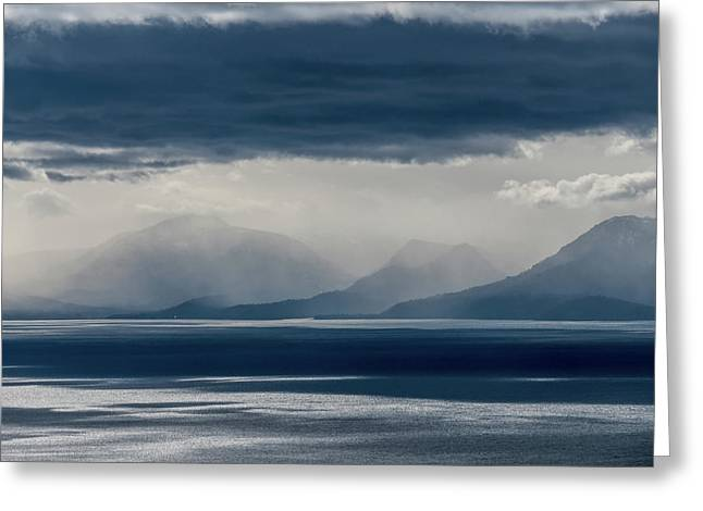 Tallac Stormclouds Greeting Card