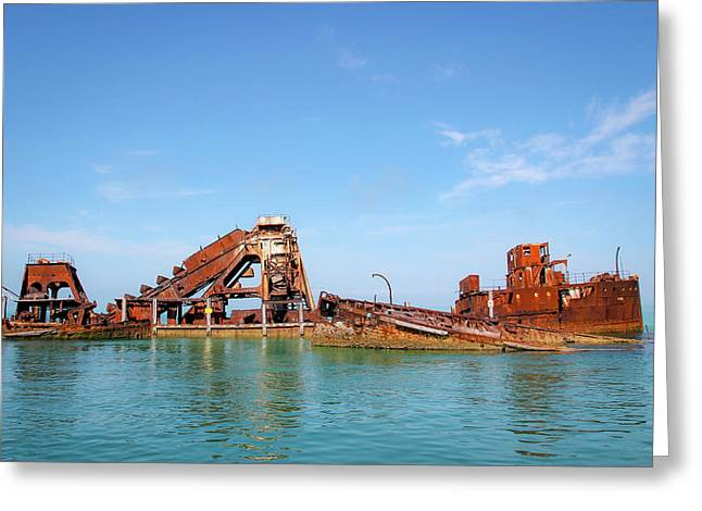 Tangalooma Wrecks Greeting Card