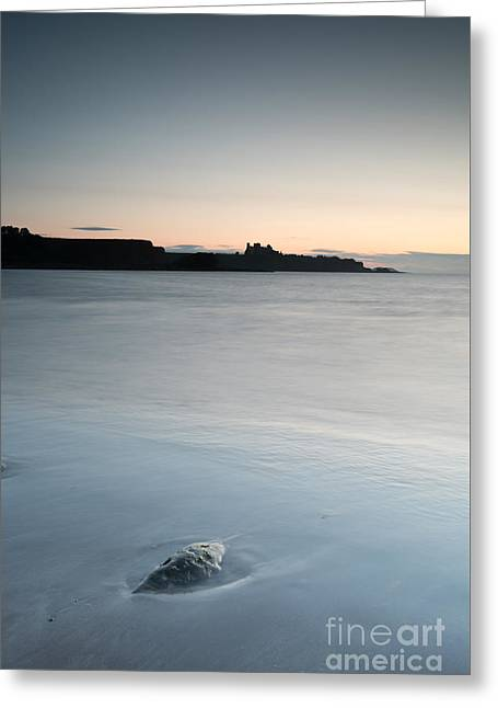 Tantallon And Bass Rock Panorama Greeting Card by Keith Thorburn LRPS