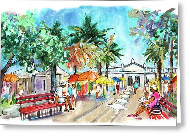 Tavira 09 Greeting Card by Miki De Goodaboom