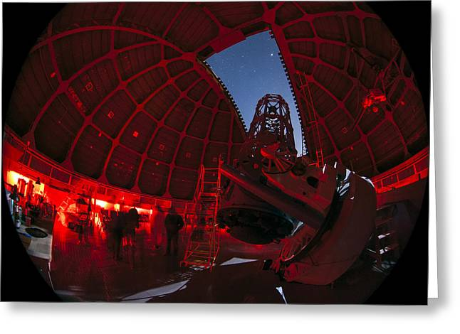 Telescope At Mount Wilson Observatory Greeting Card