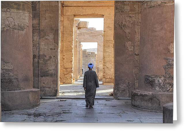 Temple Of Kom Ombo - Egypt Greeting Card