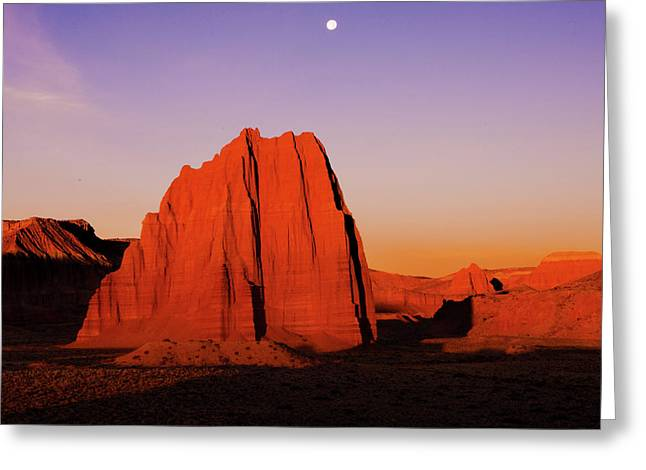 Greeting Card featuring the photograph Temple Of The Sun by Norman Hall